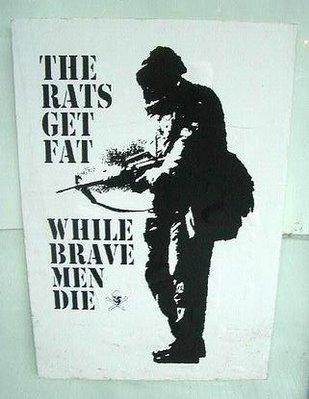 οι ποντικοί παχαίνουν όταν τα παλικάρια σκοτώνονται