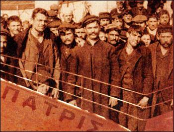 έλληνες μετανάστες έτοιμοι να ρημάξουν τις περιουσίες νοικοκυραίων στα Ευρώπας και τας Αμερικάς